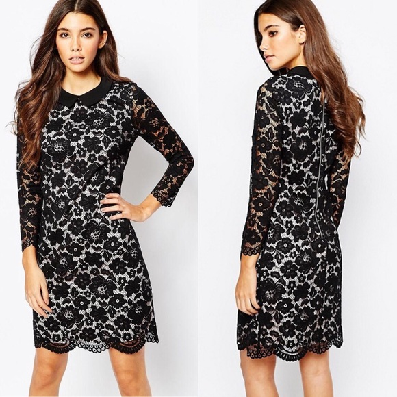 Ted Baker Dresses & Skirts - Ted Baker Ameera Scallop Hem Lace Dress